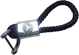 Mercedes-Benz knotted key chain