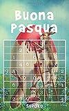 Buona Pasqua - Sudoku: Oltre 190 rompicapi Sudoku da facile a difficile   Idee Regalo Di Pasqua Per Adulti   Formato tascabile   Giochi matematici e logici