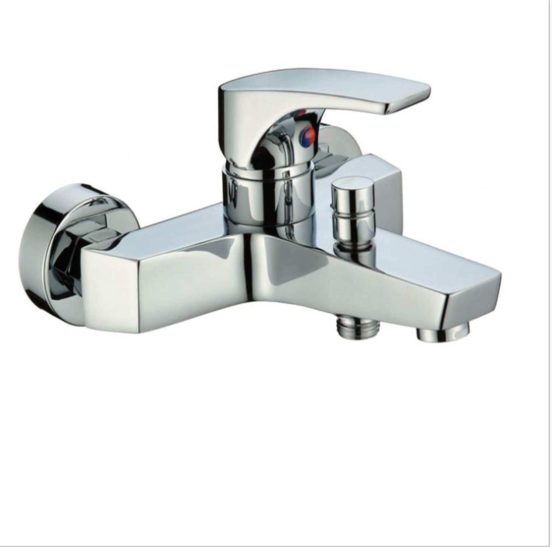 Kitchen Taps Faucet Modern Kitchen Sink Taps Stainless Steelhybrid Hot and Cold Bathtub Faucet Hybrid Valve Bathtub Shower Faucet