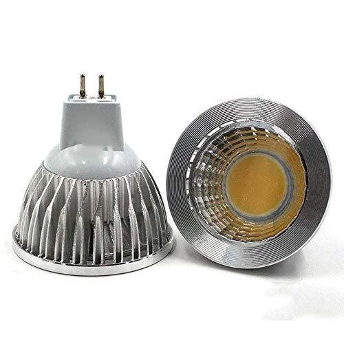 Bombilla Lámpara Led Mr16 Gu5.3 9W 12W 15W Proyector de golpe regulable Blanco frío cálido Mr 16 12V Lámpara Gu 5.3 220V, Mr16 12V, Blanco cálido