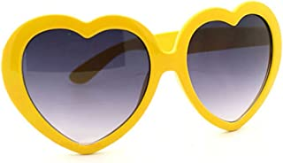 Lunettes de soleil rétro en forme de cœur Gemini _ Mall®, accessoire drôle et tendance pour l'&eacu...