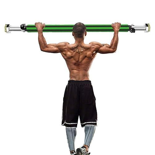 Odoland Barre de Traction Porte - Barre Pull-up/Chin-Up Barre de Musculation Ergonomique - Barre d'entrainement pour Gymnastique Fitness