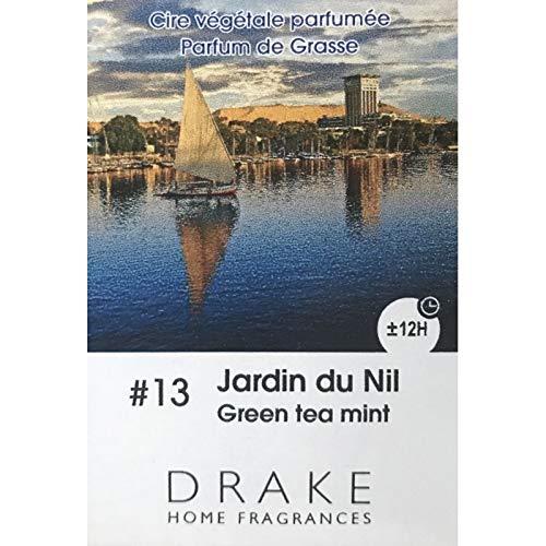 Drake - Pastillas de cera perfumadas con aroma al jardín del Nilo, aroma de jardín