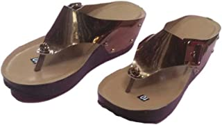 SANDAL HOUSE Articles 507 Copper Chappal for Girl