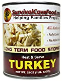 Survival Cave Food Canned Turkey - One Can (28oz Cans)