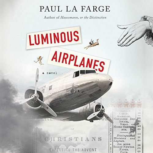 Luminous Airplanes audiobook cover art