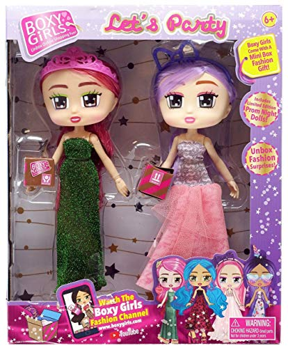 Boxy Girls Let's Party - Limited Edition Prom Night Dolls (Gracie & Jasmine)