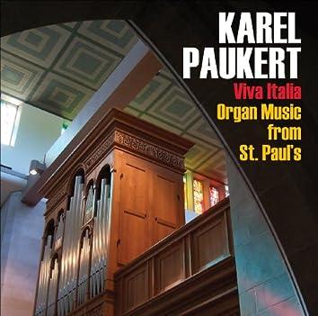 Karel Paukert on the Gerhard Hradetzky Italian Organ
