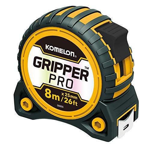 Komelon Gripper Pro KG8025 - Cinta métrica (8 m x 25 mm)