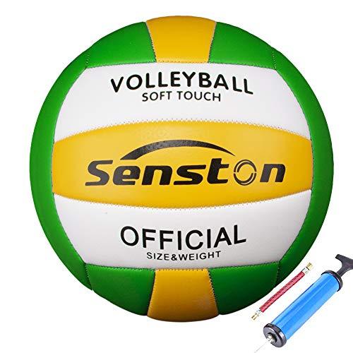 Senston Beachvolleyball Wasserfest VolleyballWeiche Berührung Beach Volleyball für Strand, Garten