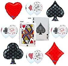 Best CASINO NIGHT 13pc Party Balloon decorations Reviews