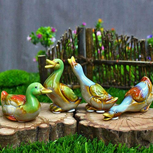 LULUDP-Decoration Collectible Duck Figurines and Statues Home Decor, Animal Sculpture Decorations Be applicable compatible Be applicable compatible Be applicable compatible for Outdoors, Lawn Pond, Ga