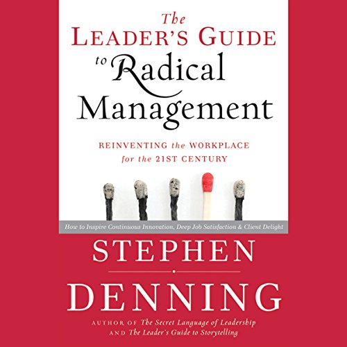 『The Leader's Guide to Radical Management: Reinventing the Workplace for the 21st Century』のカバーアート