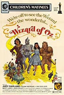 Decorative Wall Poster The Wizard of Oz Poster Movie (27 x 40 Inches - 69cm x 102cm) (1939) (Style E)