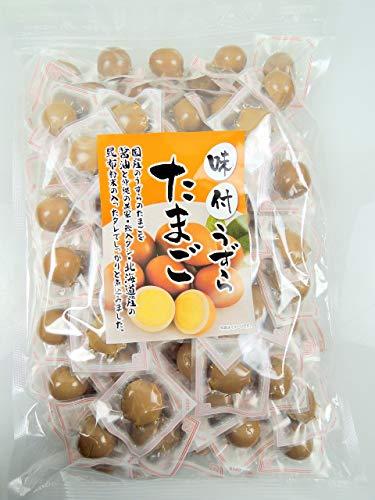 国産 業務用 味付うずらのたまご 煮玉子 100個 ウズラの卵 個包装 チャック付き袋 長谷食品