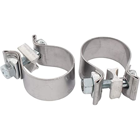 2.25 430 Stainless Steel Torca AccuSeal Heavy Duty Exhaust Band Clamp