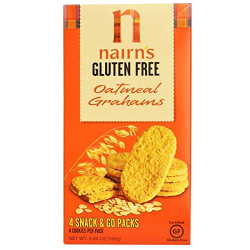 Nairn's Inc, Gluten Free, Oatmeal Grahams, 5.64 oz (160 g)