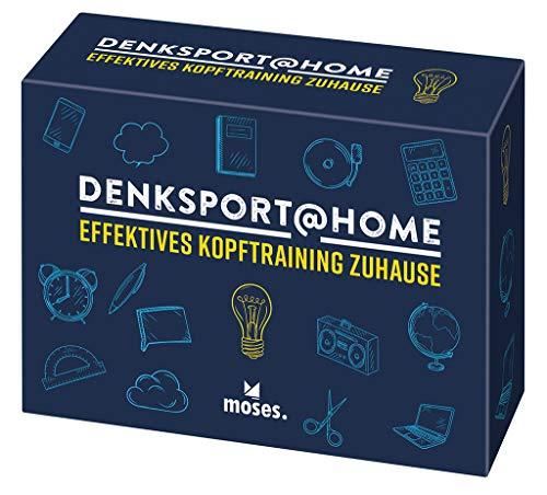 Denksport at home | Effektives Kopftraining für Zuhause | 75 spielerische Denksportaufgaben