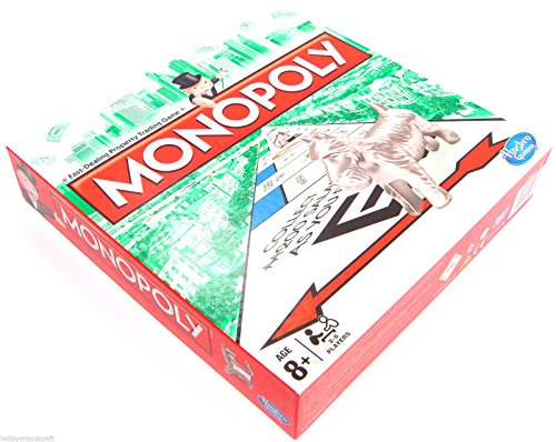 Monopoly Original Board Game Classic Traditional Game Board New and Sealed