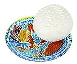 Fragonard Parfumeur Rose Lavande Dish & Parfümierte Seife, 150 g
