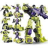 ZooYi Nanston Transformers Generations Wars Deformation Warriors Series Devastator Figure Toy-Combine Toy Truck Sets