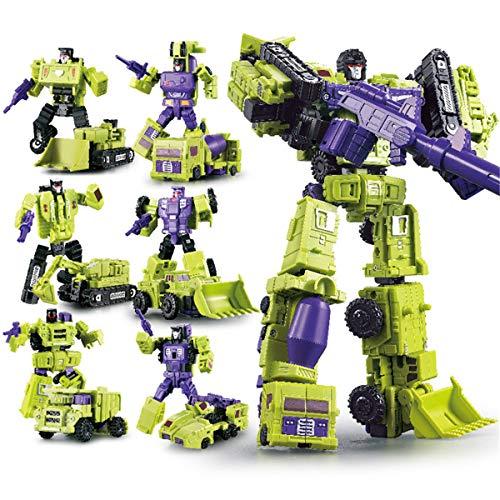 ZooYi NONEM Transformers Generations Wars Deformation Warriors Series Devastator Figure-Combine Toy Truck Sets