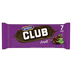 McVitie's Club Fruit Chocolate Biscuit Bars