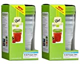 Ball Plastic Pint Freezer Jars with Snap-On Lids | 8-Ounces | 3-Count per Pack (2-Pack)