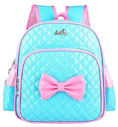 Suerico Cute Durable Waterproof Toddler Preschool Bag Kindergarten Kids Backpack for Girls (blue)