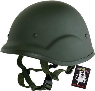 SHENKEL (シェンケル) 自衛隊 88式鉄帽 タイプ ハードシェル サバイバルゲーム ヘルメット ヘッドギア v.2 オリーブドラブ
