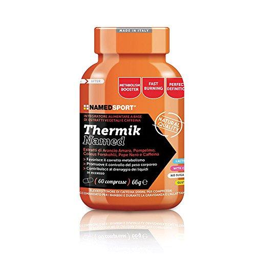 Thermik - Named - Integratore alimentare a base di estratti vegetali e Caffeina