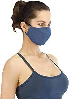 Zrom Face Mask 2PCS Reusable Dustproof Mask Windproof Foggy Haze Pollution Washable Bandanas Scarfs Breathable