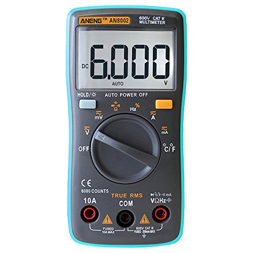 New ANENG AN8002 Digital True RMS 6000 Counts Multimeter AC/DC Current Voltage Frequency Resistance Temperature Tester ℃/℉ bside avd06 voltage detector knopp k-60 tester k60 aemc high