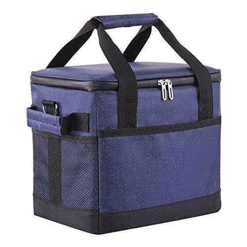 保冷バッグ 保温バッグ クーラーボックス 折りたたみ 10L 35L ランチバッグ 大容量 ソフトクーラー しっかりタイプ 手持ちと肩掛け式 漏れ防止 底板有 保冷剤入れ可 お弁当 キャンプ ピクニック等用のクーラーバッグ (10L)
