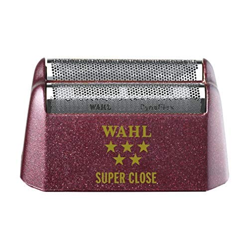 Wahl Professional 5-Star Series #7031-400 Replacement Foil Assembly – Red & Silver – Super Close