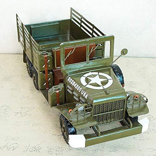 DIAOSUJIA plaatwerk Amerikaans leger vrachtwagen model handgemaakt modern huis woonkamer keuken slaapkamer bureau plank kunst sieraden decoratie kerst geschenken