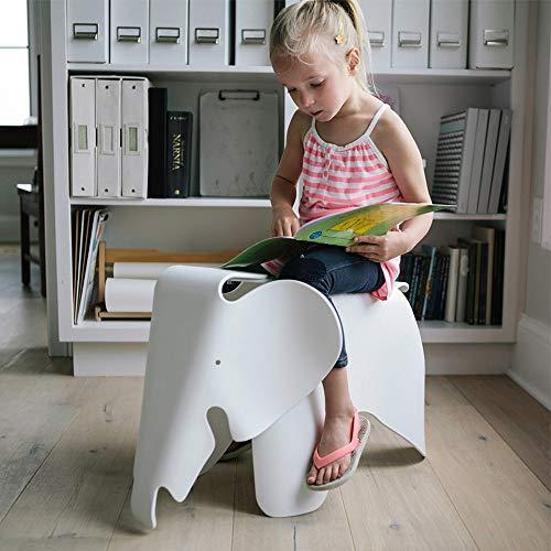 Paddia Kreative Umweltschutz Schöne Kinder Elefant Kunststoff Niedrigen Hocker Zeitgenössisches Design Kinder Möbel Spielzeug Stuhl Multicolor (Color : Mint Green)