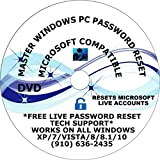 All Windows PC PASSWORD REPAIR RECOVER RESET RECOVERY FIX DVD UTILITY SUITE Free Over The Phone Tech Support COMPATIBLE WITH MICROSOFT WINDOWS XP/7/VISTA/8/8.1/10
