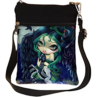 Perched & Sat & Nothing More Strangeling Fairy Shoulder Bag By Jasmine Becket-Griffith