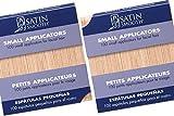 Satin Smooth Small Applicators Eyebrow, Upper Lip, Chin, Facial Hair Waxing 100 ct x 2 packs