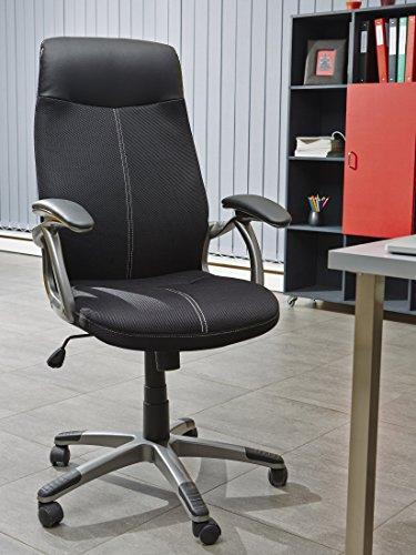 13 CASA Chaise de Bureau Noir