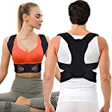 Mercase Posture Corrector for Men,Women and Kids,Comfortable Adjustable Support Back Brace Providing Pain Relief for Neck, Back, Shoulders,Posture Brace (L, Waistline 32-39in)