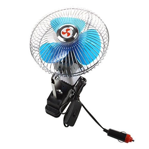 Huante Portatil 12V Ventilador del Coche Abanico electrico Enfriador