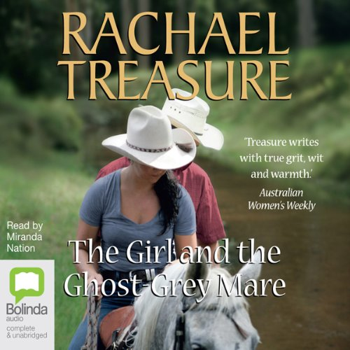 The Girl and the Ghost-Grey Mare audiobook cover art