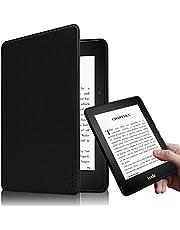 Fintie Kindle Voyage 6 インチ ケース 最も薄く、最軽量の保護 高品質PU レザー カバー マグネット機能搭載 【Kindle Voyage専用】(ブラック)
