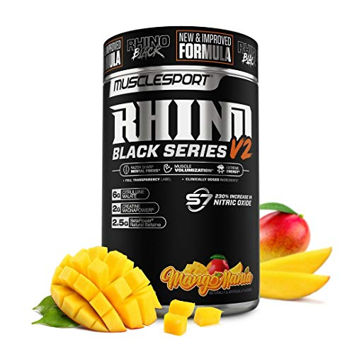Rhino Black® Pre Workout V2 - Prew…