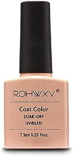 ROHWXY 7.3 ML Nail Gel Polish For Manicure 60 Colors UV LED Gel Laquer Soak Off Gel Varnish Painting Gel Nail Art Design Tools (RPG_017)