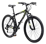 Mongoose Mech Mountain Bike, 26-Inch Wheels, Black