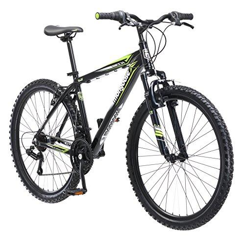 Mongoose Mech Mountain Bike, 26-Inch Wheels, Black
