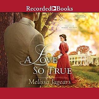 A Love So True audiobook cover art